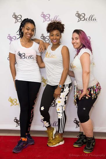 Center: Dorcas Green, Bella Fitness Studios (Sauk Village, IL)