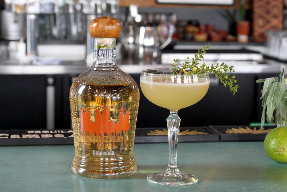 JT Taber's Tres Lluvias cocktail