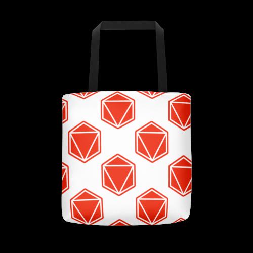 UXXIO Red Design Tote Bag