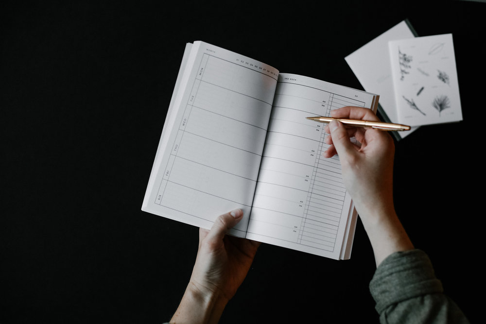 Any-Year Planner   Lauren Nicole Co.   #planners #planner #organize #agendas #diaries, planners, organize, office, workspace