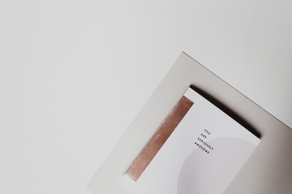 Studio Ease SP18 Lookbook | greeting cards, notepads, planners, stationery, desk organization, productivity, modern design, typography