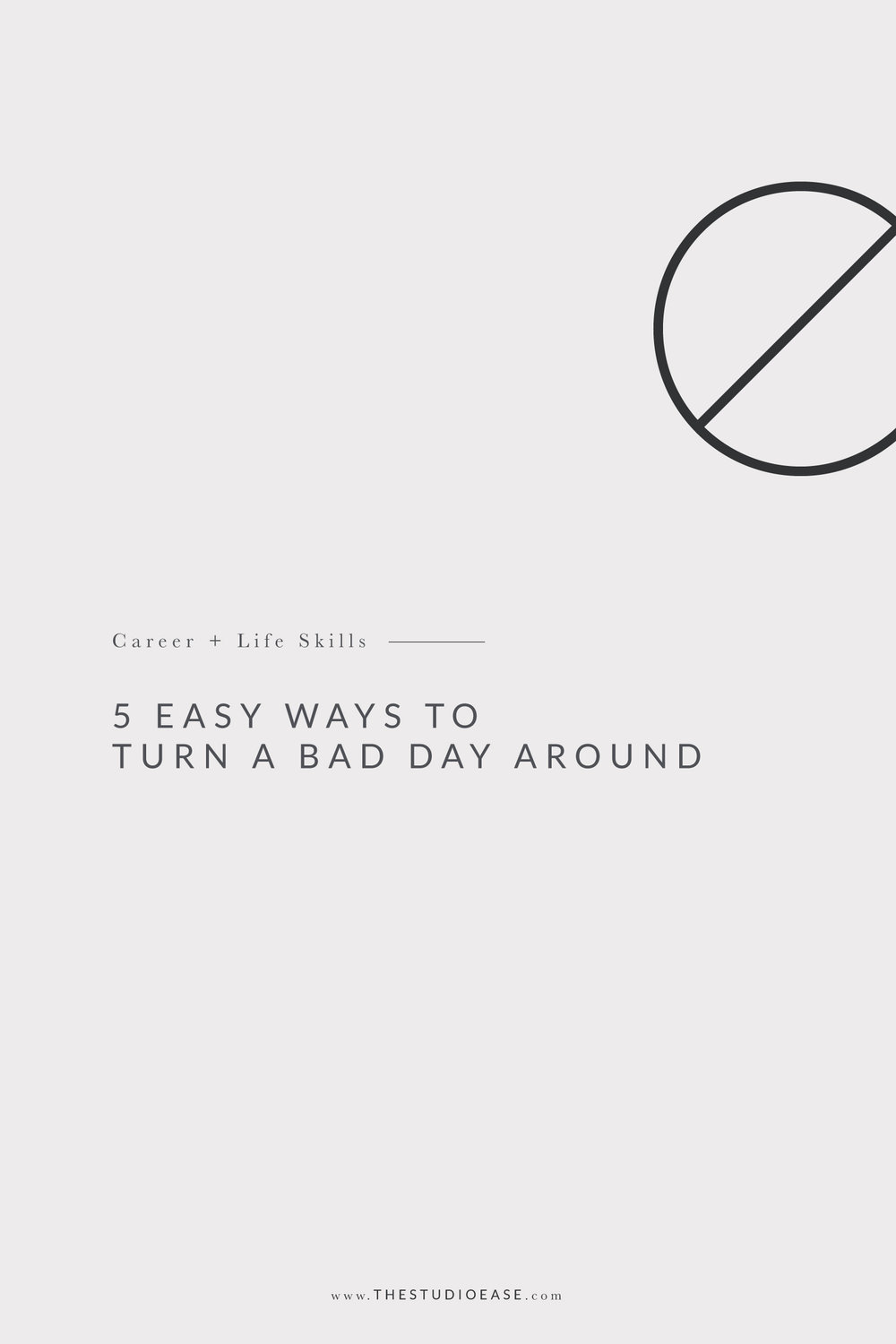 5 Easy Ways to Turn a Bad Day Around | #productivity, productivity tips, midday slump, afternoon pick me up, organization, career skills