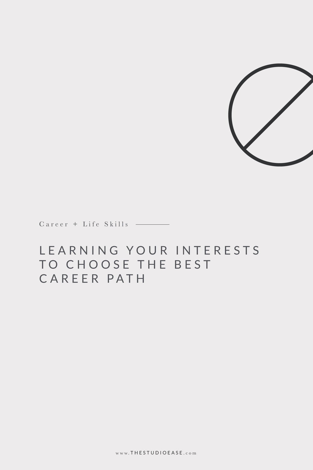 Learning Your Interests to Choose the Best Career Path | Lauren Nicole Co. #careerpath #careeradvice career help, career tips, choosing the best career, career path ideas