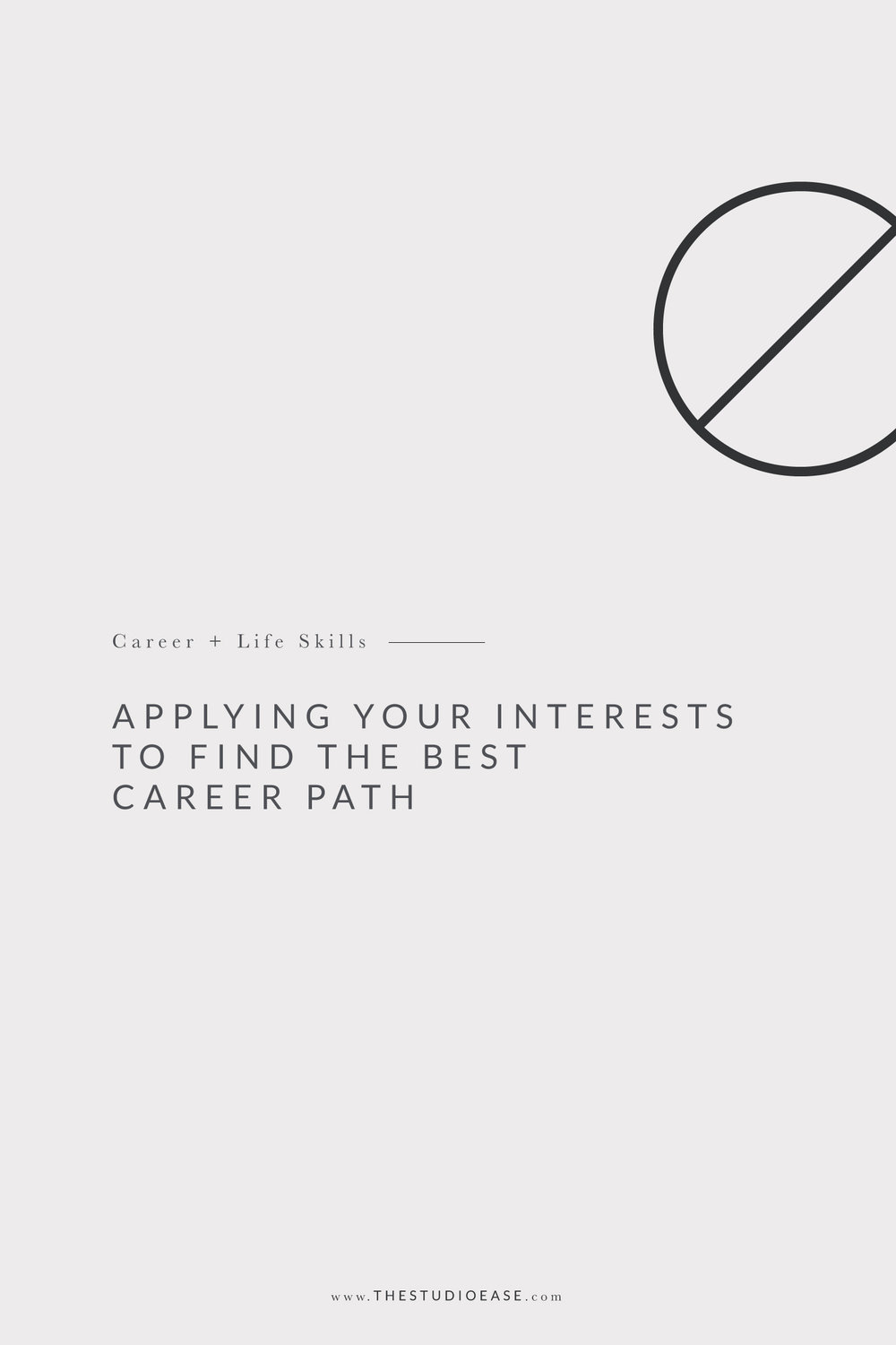 Applying Your Interests to Find the Best Career Path | career, career advice, career help, business advice, interests, personality test