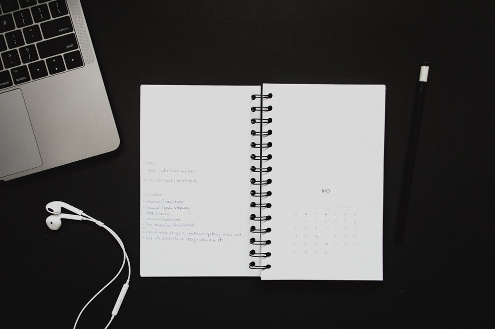 Open Dated Planner by Studio Ease