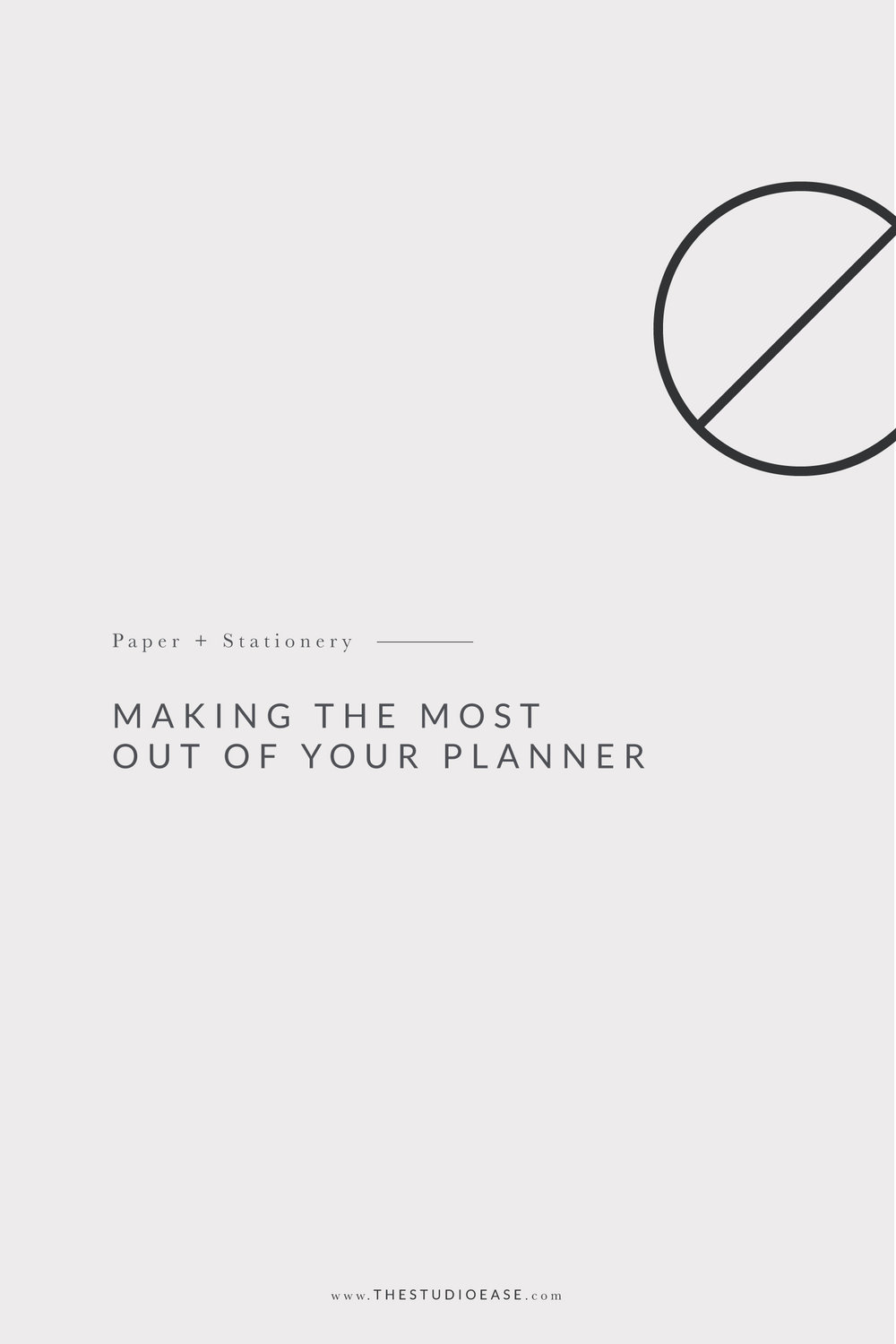 Making The Most Out of Your Planner by Studio Ease #planner #goals, open dated planner, any year planner, yearless planner, agenda, diary, schedule, planning, get organized, goal setting