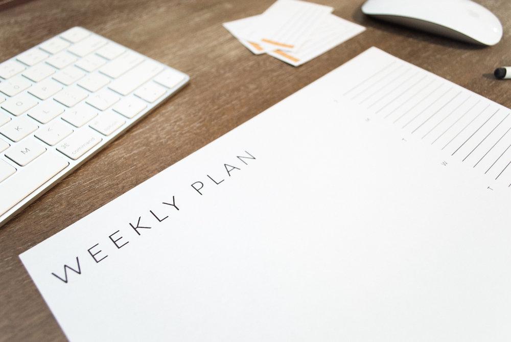 Free Weekly Planner by Studio Ease #planner #weeklyplanner #downloads printable, free calendar printable, free weekly printable, free planner page