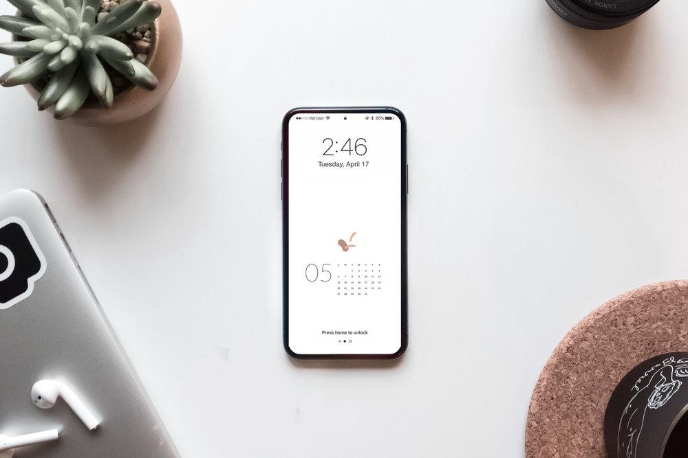 Free May Calendar Wallpaper Download by Studio Ease, Desktop + Mobile #calendar, free calendar, free calendar download, April calendar, iphone wallpaper, desktop wallpaper, calendar wallpaper