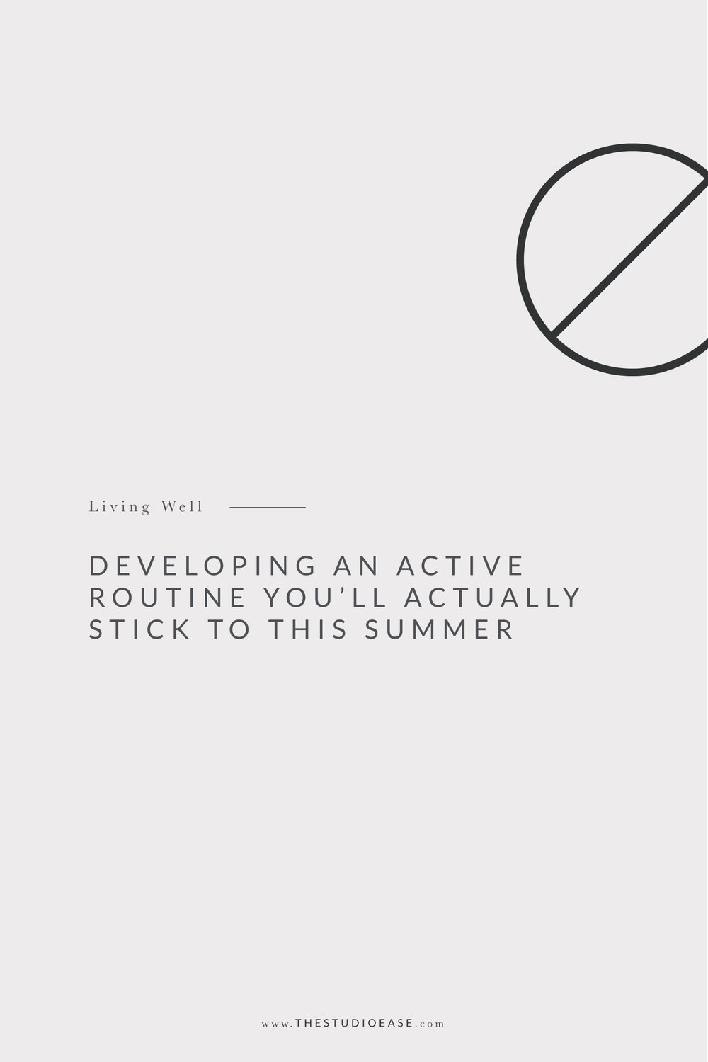 With busy summer schedules, it feels almost impossible to find an active routine that you can stick to and actually enjoy. You can google so many work out plans and try to puzzle together how you're going to commit yourself to working out with your busy Summer schedule. We are sharing a few tips to help you develop a more active, healthy routine this Summer that is ever-changing and easy to fit into any busy schedule.