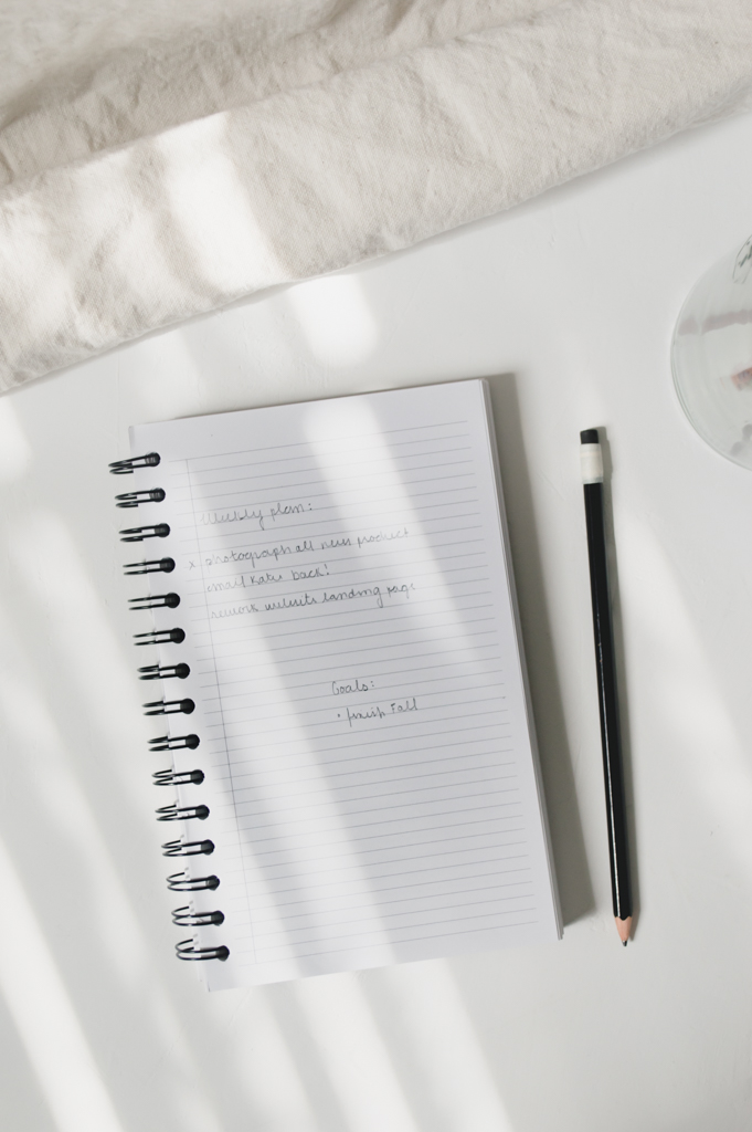 Studio Ease Notebook Lined Pages