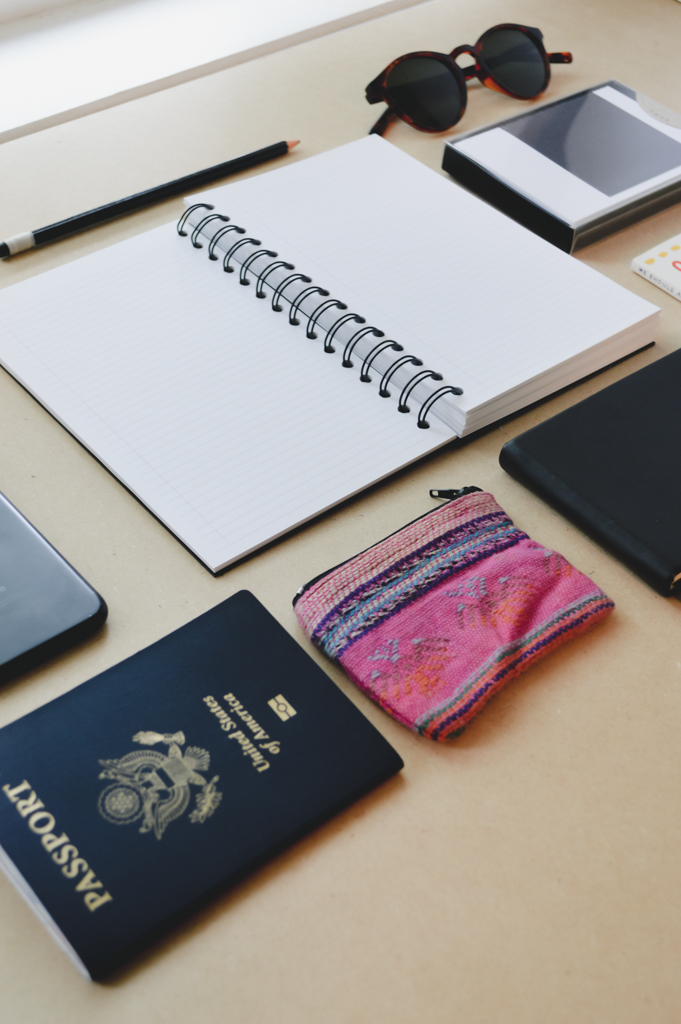 Some of us want to travel with a set itinerary so there is no risk of missing anything. These paper items are sure to keep you on schedule and share a little gratitude too.