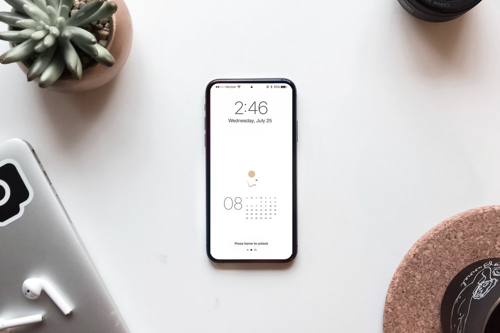 Free August Calendar Wallpaper Download by Studio Ease, Desktop + Mobile #calendar, free calendar, free calendar download, April calendar, iphone wallpaper, desktop wallpaper, calendar wallpaper