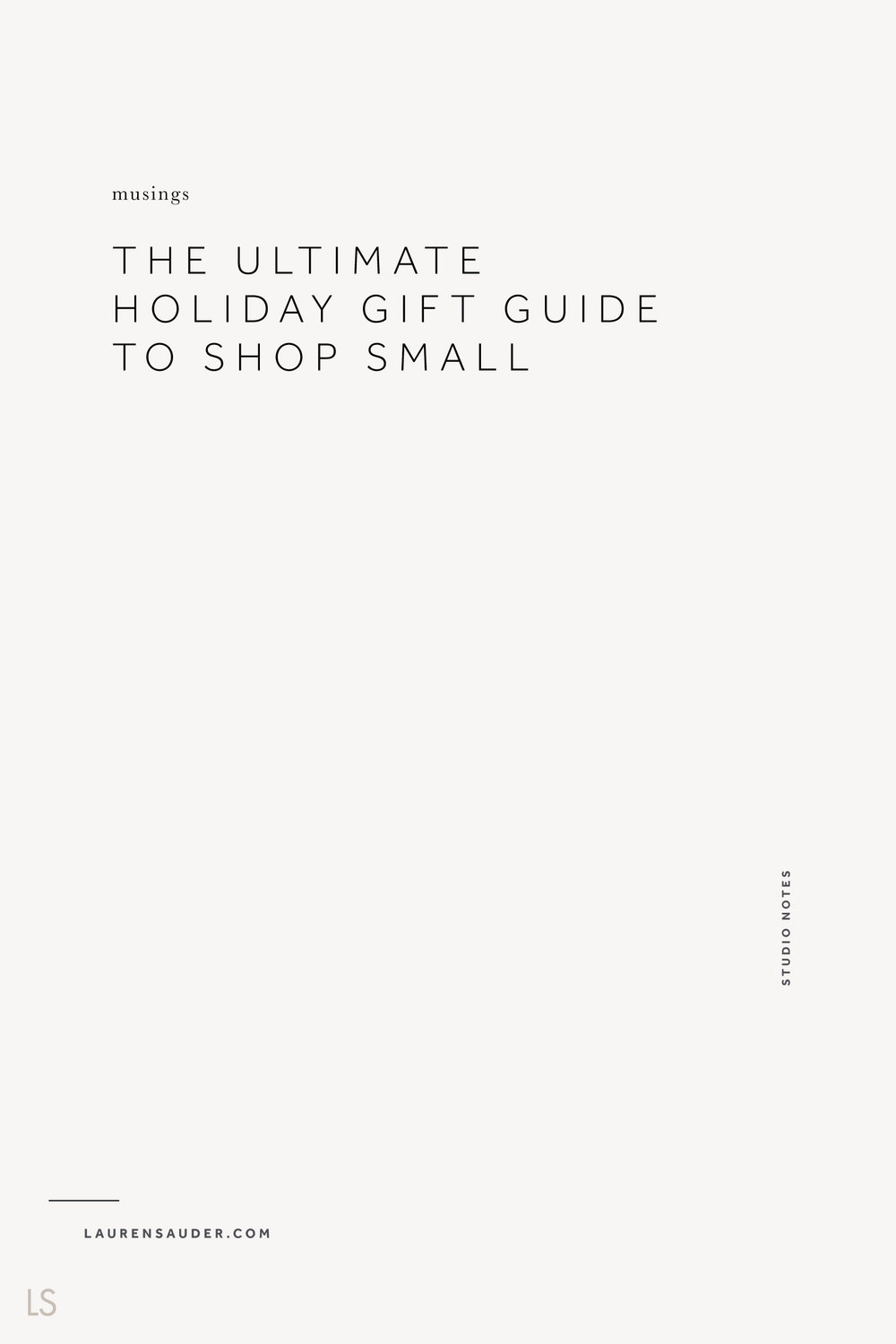 The Ultimate Holiday Gift Guide to Shop Small : Handmade Popup Shop, shop small, holiday shopping, shop local, holiday gifts from makers, holiday gift ideas, holiday gift guide