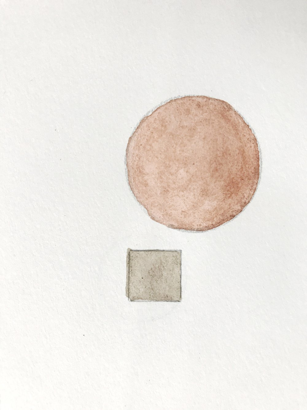 Lauren Sauder - Original Painting from Earth Pigments, 100 Day Project