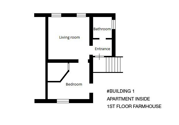First Floor Farmhouse  1st Building (Apartment)