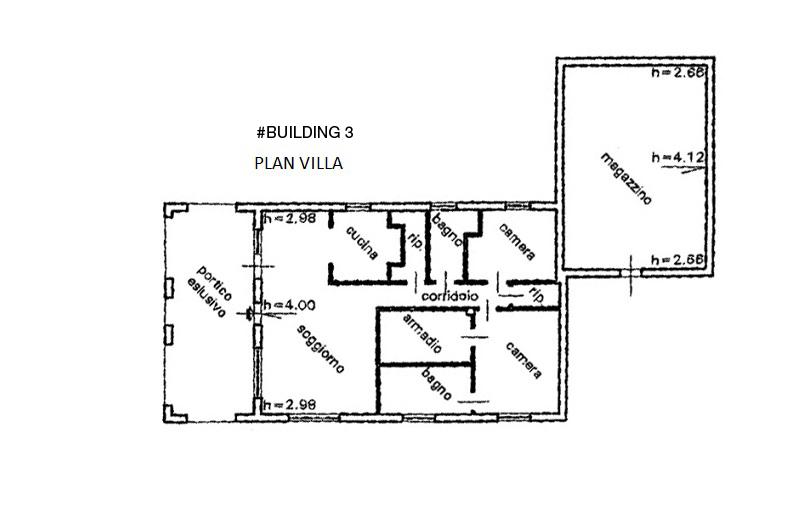Floor Plan Villa  3rd Building