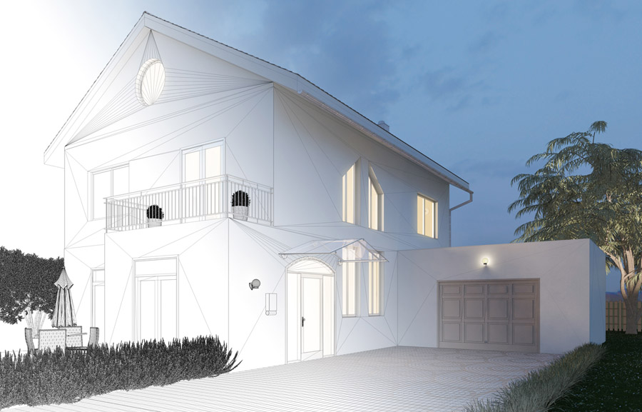 REBUILDING - Properties that can be completely transformed with custom projects.