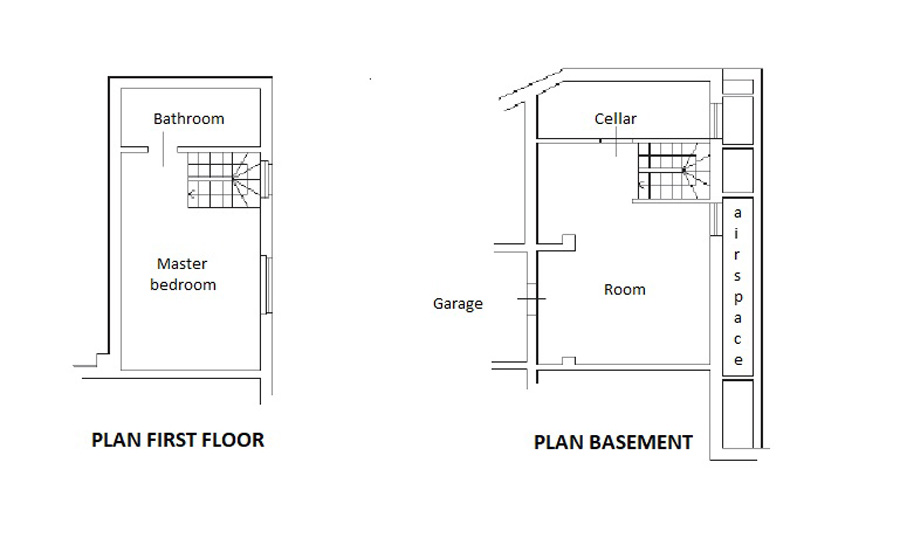 First Floor and Basement