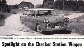 1961 Checker Station wagon ( www.coachbuilt.com )