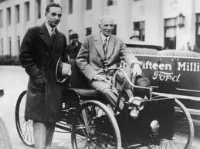 Edsel, Henry and the first ford  ( www.ford.media.com )