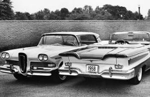 E-F and E-M Edsels (www.timeMagazine.com)