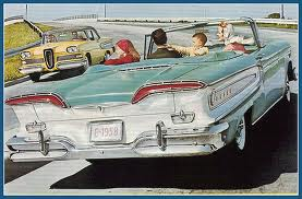 Edsel Advert CIRCA 1958
