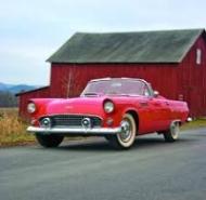 1955 Thunderbird.2 few seats ( www.Hemmings.com )
