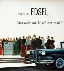 Edsel Advert CIRCA 1957