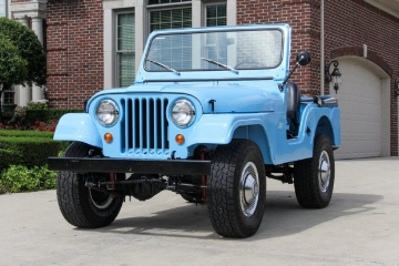 1962 Jeep CJ5 ( www.BringaTrailer.com )