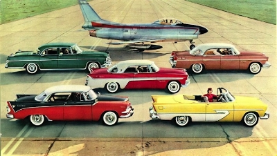 the 1955 Forward look (chrysler advert circa 1955)