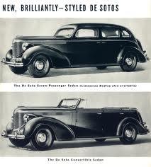 1938 DeSoto LWB (DeSoto ad art CIRCA 1938)