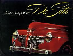 1941 DeSoto (DeSoto ad art CIRCA 1941)