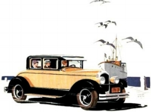 "1927 Chrysler Imperial E80: One of the most powerful cars of its day. 80mph was ""guaranteed"".  ( www.ImperialClub.com )"