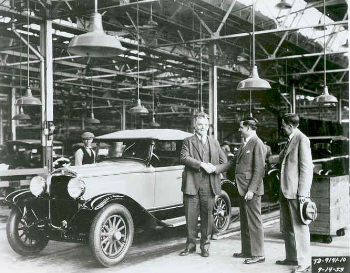 """1928 Plymouth model Q : With the arrival of Plymouth, Detroit's """"Big Three""""   was born. (www.mychurchgrowth.com)"""