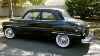 1950 Plymouth : evolutionary design not keeping up with times