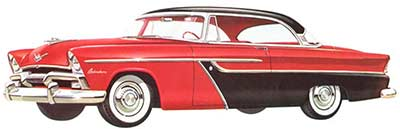 1955 plymouth belvadere : plymouth's first v8