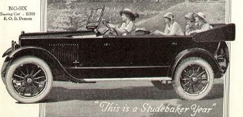 1920 Studebaker Big Six  www.wikipedia.com