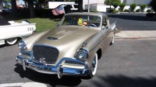 1957 Studebaker Golden Hawk www.YouTube.com