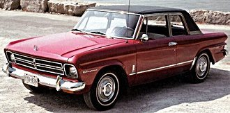 1966 Studebaker Lark  (www.Fiftiescars.com)
