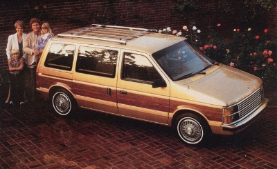 plymouth voyager mini van: changed the way a generation did roadtrips