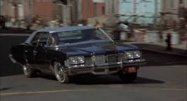 the bad guys  drove a  1973 Pontiac Grandville     In arguably one of the top-5 movie car chases of all time.