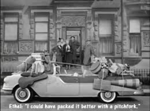 ...And Lucy and Ricky ricardo certainly liked theirs in early television's greatest road trip