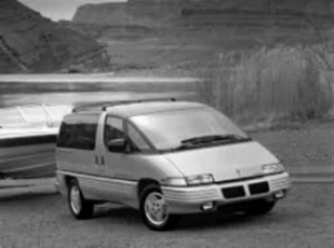 "1989 Pontiac Transport  - WHAT CAN YOU SAY, REALLY. It was ""the pontiac of Minivans."" (source unknown)"