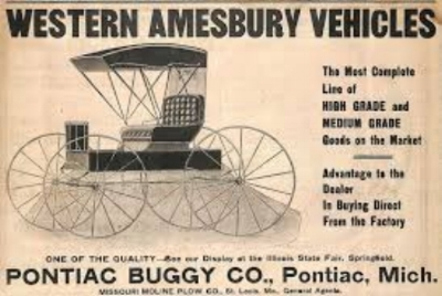 THE PONTIAC BUGGY COMPANY  OF PONTIAC, MICHIGAN WAS FOUNDED BY EDWARD MURPHY IN 1892. LIKE WITH STUDEBAKER AND GM'S FOUNDER, BILLY DURANT, MURPHY'S EARLIEST PONTIACS WERE HORSE POWERED. WWW.EN.NUMISTA.COM