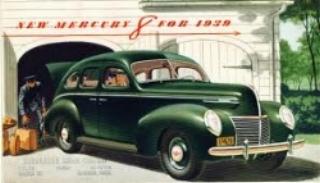 1939 Mercury 8 (Mercury advert:Circa 1939)