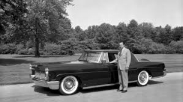 Willian Cay Ford and the Mark II ( www.media.Ford.com)