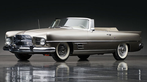 the 1957 Dual-Ghia  carried a $7650 price tag when it was new - only Rolls Royce, the Continantal Mark II, the Cadillac El Dorado Biarritz cost more. Despite its stratospheric price, It was estimated that Eugene Casaroll lost $2000 on each car he produced. Eugene was rich but not that rich. sadly, at the end of 1958, Dual-Ghia became another make that didn't make it. Today, an original Dual-Ghia can bang the gavel at close to Half a million dollars (www.RMAuctions.com)