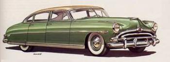 1951 Hudson Hornet Advert