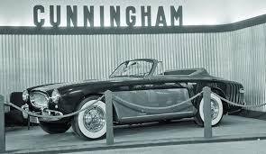 1953 Cunningham C-3 roadster (www.hennings.com)