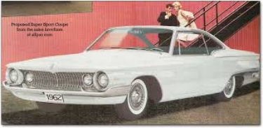 Proposed 1962 Plymouth S-Body full sized car (www.allpar.com)